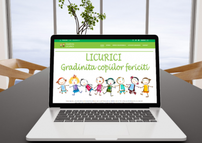 Kindergarten Licurici | Presentation site