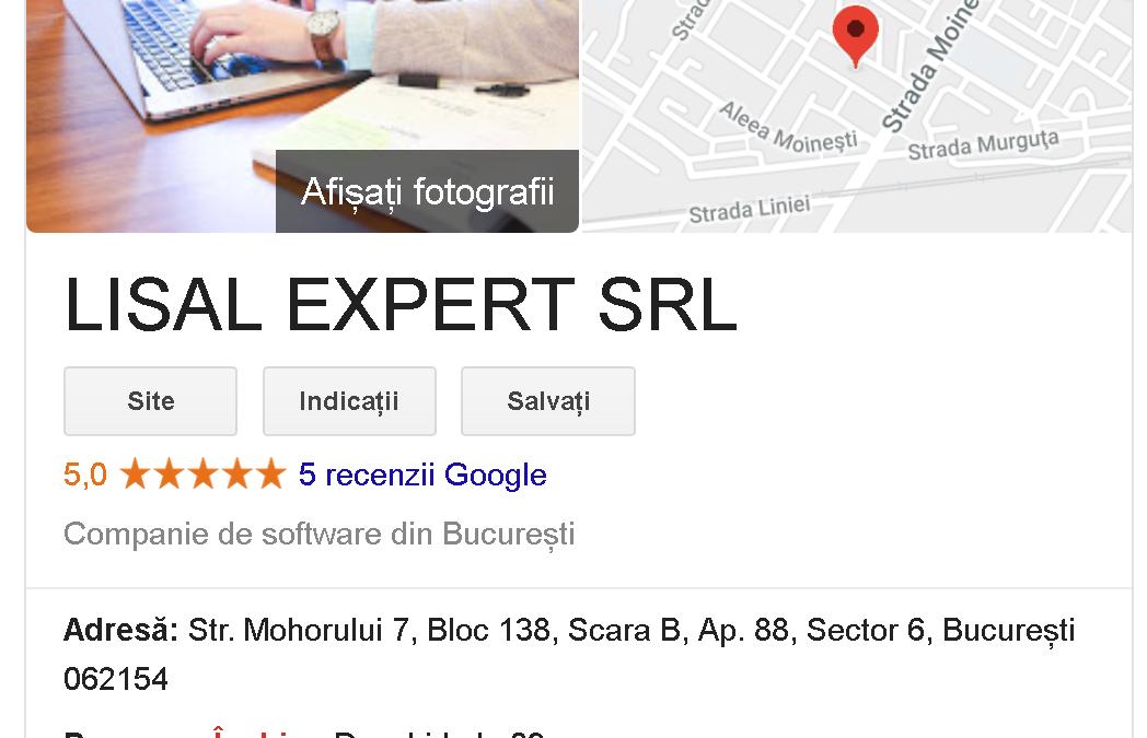 My Business Google pentru OpenCart
